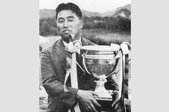 1930年「日本プロ」を19打差で制した村木章 ※「PGAリポート」No.104より