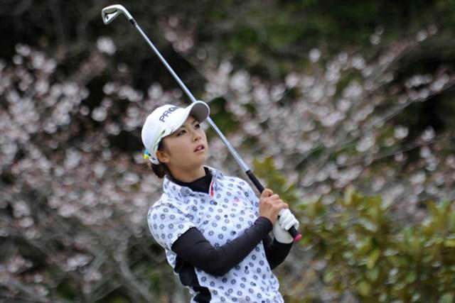 2010年 ヤマハレディースオープン葛城 初日 菊地絵理香 ゴルフはショットの良さだけでなく、つなぎが重要と痛感した菊地絵理香