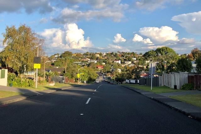 ロックダウン中のオークランド市街。ニュージーランドは優れた新型コロナウイルス対策を行った国のひとつだ(提供写真)