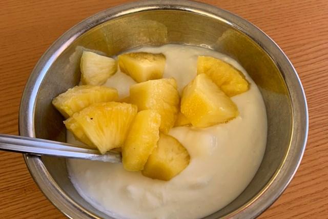 プチ断食=ゆるーいファスティングに挑戦。ヨーグルトと果物を