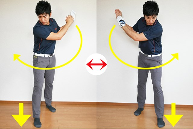 慣れるまで右手右足、左手左足が一緒に動いてしまう