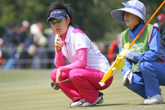 2010年 ヤマハレディースオープン葛城 2日目 森桜子 初のホストプロとしての出場も、悔しい予選落ちを喫した森桜子