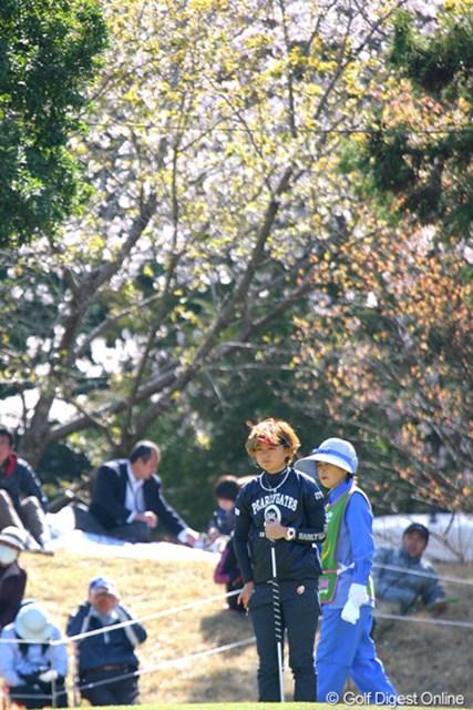 2010年 ヤマハレディースオープン葛城 2日目 櫻井有希 今シーズン初出場の櫻井有希だが、90位タイで予選落ち。サクラは咲かず