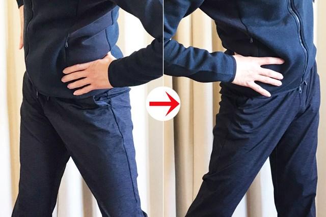 股関節に入れる感覚も取り戻せる