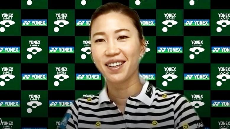 ツアー開幕に喜びと不安 上田桃子「ひとつのスタートをきっかけに次に進める」