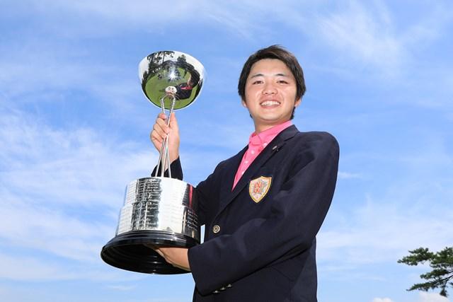 昨年の日本アマは木村太一が制した※写真提供:日本ゴルフ協会