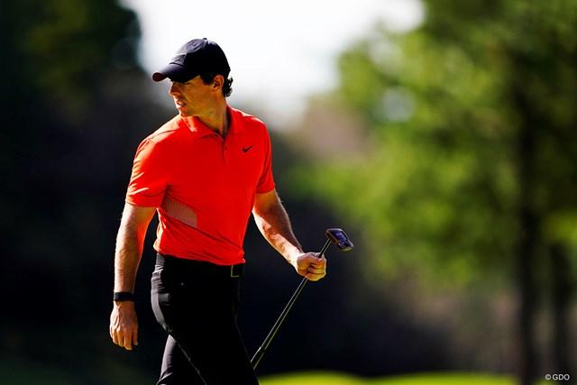 マキロイはゴルフ界3位(※撮影は2019年ZOZOチャンピオンシップ)