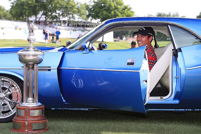 昨年大会ではケビン・ナがツアー3勝目を挙げた(Tom PenningtonGetty Images)