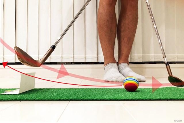 久々ゴルフその前に… アプローチ家練ドリル【リモートレッスン】 人間の本能的な動きとヘッド軌道は関係している