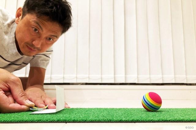 久々ゴルフその前に… アプローチ家練ドリル【リモートレッスン】 メモ用紙は縦10cm×横10cmほどのものを使用