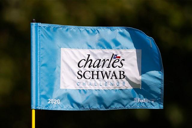 2020年 チャールズ・シュワブチャレンジ チャールズ・シュワブチャレンジ フラッグ(PGAツアー提供)