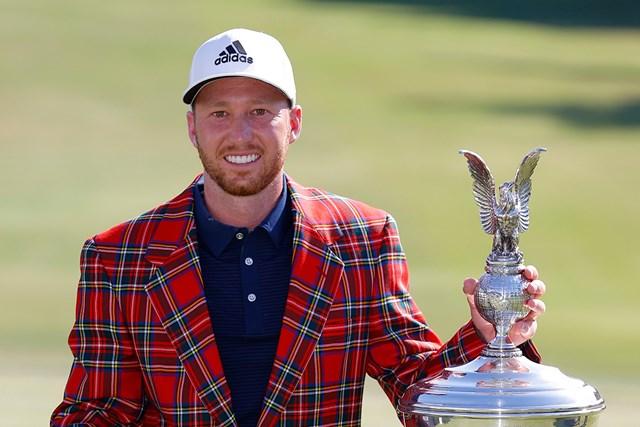 ダニエル・バーガーが米ツアー再開初戦を制し、3季ぶり3勝目を挙げた(Tom Pennington/Getty Images)