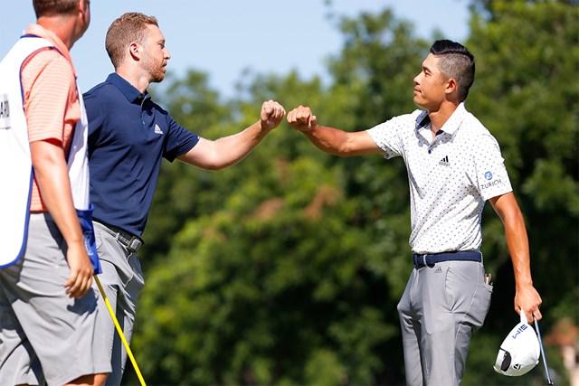 握手もハグもしない。これが新しいプレー様式(Tom Pennington/Getty Images)
