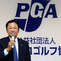 日本プロゴルフ協会の倉本昌弘会長。国内シニアツアーは7月に開幕へ 倉本昌弘