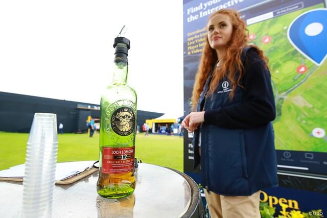 2019年「全英オープン」ではスコッチウイスキーが無料配布された
