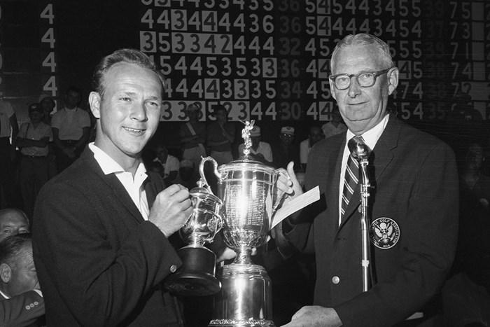 7打差を逆転し「全米オープン」を制したパーマー(Getty Images) 1960年 全米オープン アーノルド・パーマー