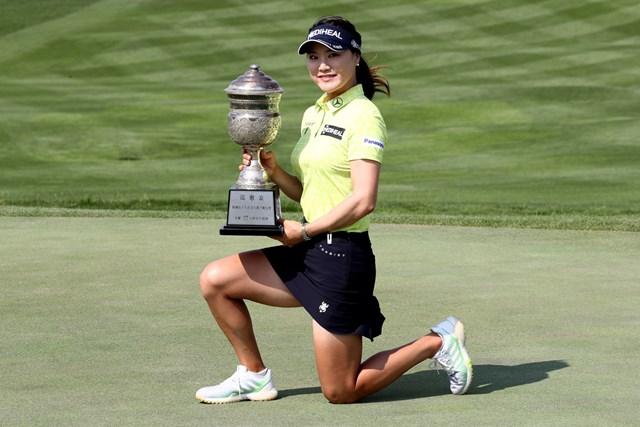 2020年 キア自動車 韓国女子オープン選手権 最終日 ユ・ソヨン 米ツアーで活躍するユ・ソヨンが母国で優勝(Chung Sung-Jun/Getty Images)