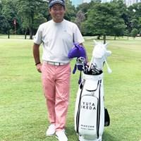 ゴルフも再開。あとはツアー再開を待つばかり?(提供:アジアンツアー) 池田勇太