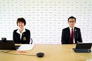 2020年 アース・モンダミンカップ 事前 小林浩美JLPGA会長 大塚達也アース製薬会長