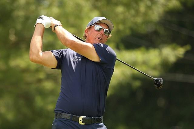 50歳フィル・ミケルソンが単独首位で決勝へ(Maddie Meyer/Getty Images)