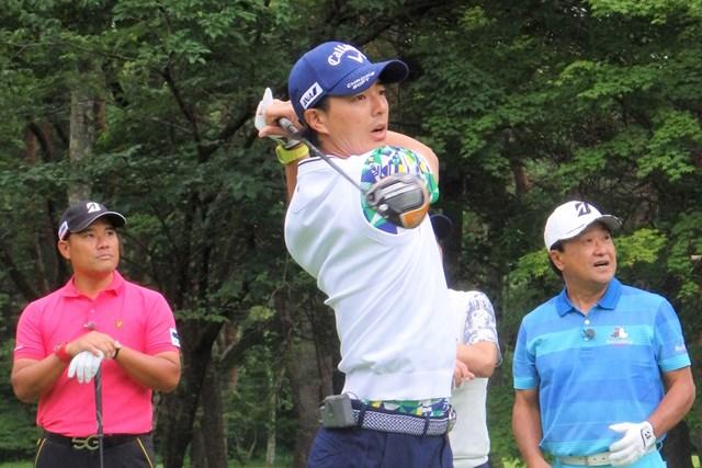 「日本プロ」歴代覇者がチャリティマッチで激突※日本テレビ提供