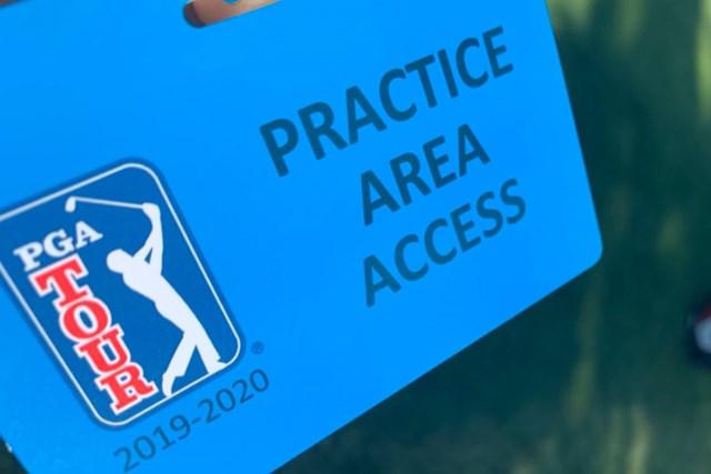 練習場への入場を許可するカード。選手に帯同するスタッフも人数を制限される(提供画像)
