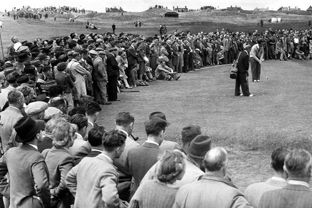 難セッティングになった1947年の「全英オープン」(MirrorpixGetty Images)