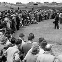 難セッティングになった1947年の「全英オープン」(MirrorpixGetty Images) 1947年 全英オープン