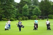 2020年 ゴルフパートナー エキシビショントーナメント(非公式) 事前 小鯛竜也 石川遼 星野陸也 今野大喜