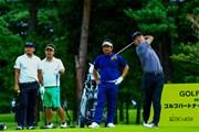 2020年 ゴルフパートナー エキシビショントーナメント(非公式) 事前 時松隆光