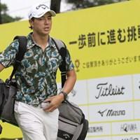石川遼は担ぎで元気に18ホールを回った 2020年 ゴルフパートナー エキシビショントーナメント(非公式) 初日 石川遼