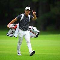28歳も担ぎます(提供:JGTO/JGTO images) 2020年 ゴルフパートナー エキシビショントーナメント(非公式) 最終日 木下稜介