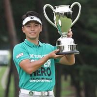 22歳の関藤直熙がコースレコード「61」で逆転優勝を飾った 2020年 ゴルフパートナー エキシビショントーナメント(非公式) 最終日 関藤直熙