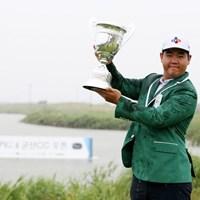 「クンサンCCオープン」でKPGA最年少優勝記録を作ったキム・ジュヒョン(提供:アジアンツアー) キム・ジュヒョン
