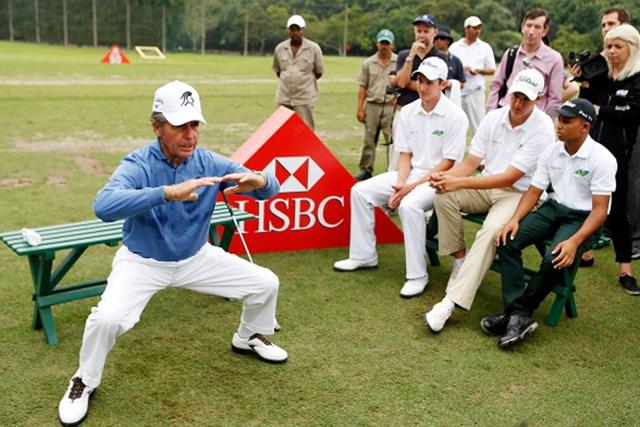 ゲーリー・プレーヤーはいまもトレーニングに熱心(Scott Halleran/Getty Images)