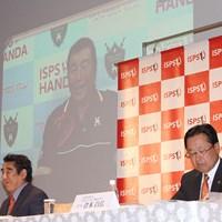 リモートで会見に出席した尾崎将司。自らの名前を冠したチャリティトーナメントが9月に開催される 尾崎将司