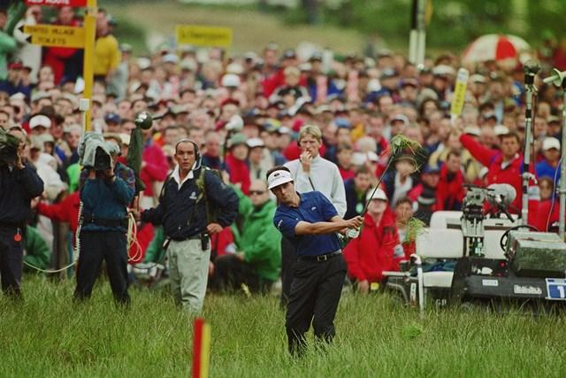 1999年 全英オープン 最終日 ジャン・バンデベルデ ラフは深く過酷だった…悲劇の主役となったジャン・バンデベルデ(Getty Images)