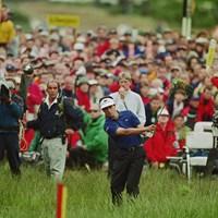 ラフは深く過酷だった…悲劇の主役となったジャン・バンデベルデ(Getty Images) 1999年 全英オープン 最終日 ジャン・バンデベルデ