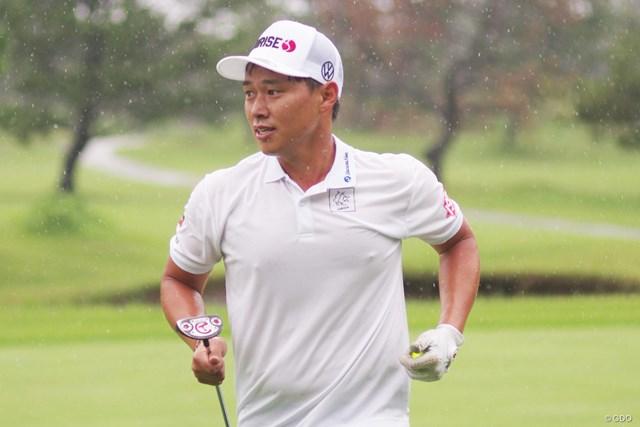 初挑戦のスピードゴルフで、日本王者の記録を上回った中西直人