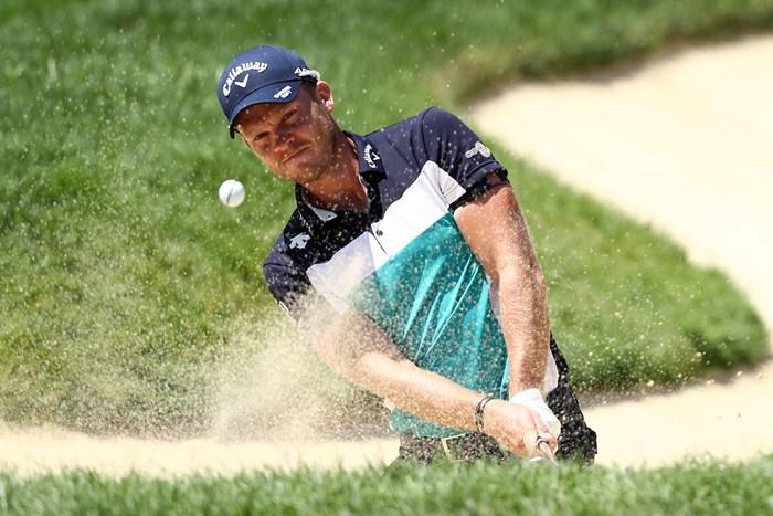 ウィレットは耐えるゴルフで上位をキープした(Jamie Squire/Getty Images) 2020年 ザ・メモリアルトーナメント  3日目 ダニー・ウィレット