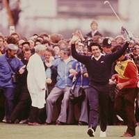 1979年の全英オープンを制したセベ・バレステロス(GettyImages StevePowellAllsport) セベ・バレステロス