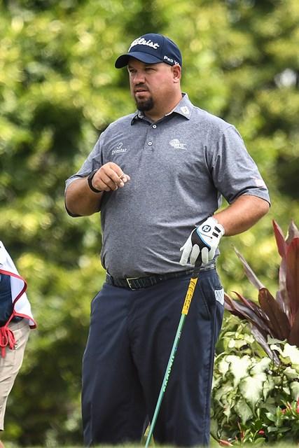 2020年 3Mオープン 初日 ブレンドン・デ・ヨング 職業はプロゴルファーである(Nick Wosika/Icon Sportswire via Getty Images)