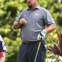 職業はプロゴルファーである(Nick Wosika/Icon Sportswire via Getty Images) 2020年 3Mオープン 初日 ブレンドン・デ・ヨング