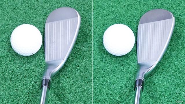 左がSM8、右がSM7。8のほうが若干フェース縦方向に長い印象