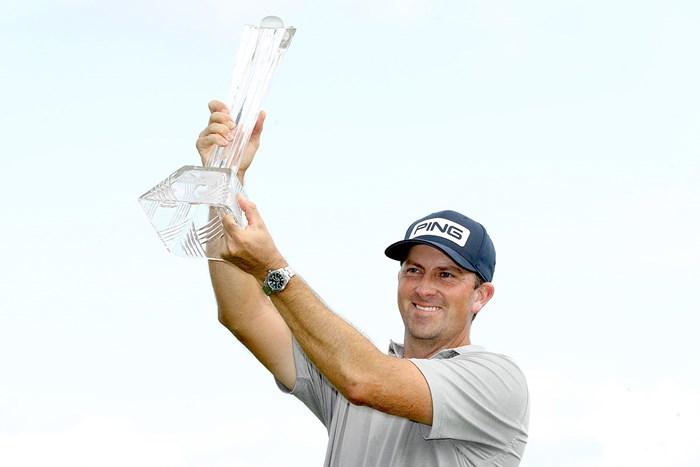 マイケル・トンプソンが7年ぶりのツアー2勝目を挙げた(matthew Stockman/Getty Images) 2020年 3Mオープン 最終日 マイケル・トンプソン