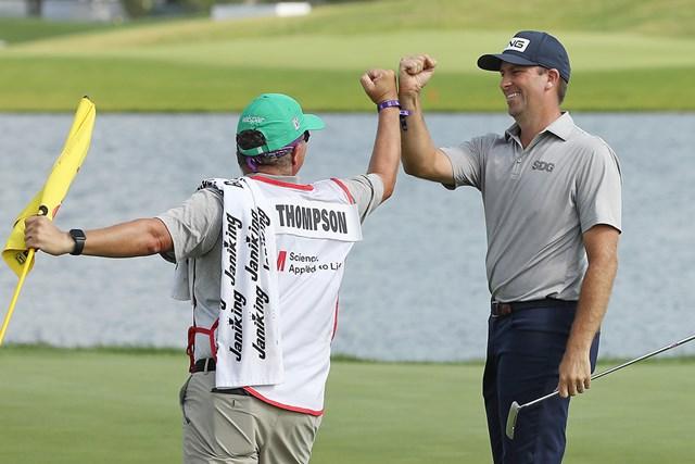 2020年 3Mオープン 最終日 マイケル・トンプソン マイケル・トンプソンは6年ぶり世界トップ100入り(Matthew Stockman/Getty Images)