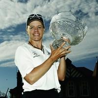 ソレンスタムが通算10アンダーで優勝(写真は2003年全英女子オープン Photo by Warren Little/Getty Images) 2003年 全英女子オープン 最終日 アニカ・ソレンスタム