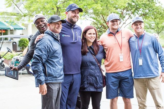 レイシュマンは基金活動の一環でチャリティゴルフイベントも行っている(提供PGATOUR/ビギン・アゲイン基金)