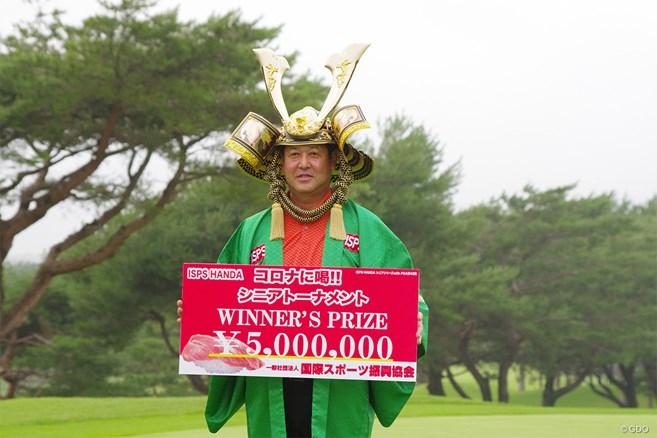 柳沢伸祐が3カ月遅れの開幕戦制し通算3勝目 シニアデビューの佐藤信人は43位