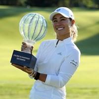 ダニエル・カンがツアー再開戦を制した(Patrick Smith/Getty Images) 2020年 LPGAドライブオン選手権  最終日 ダニエル・カン